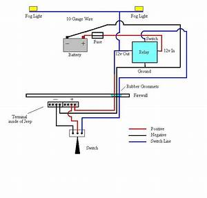 Fog Light Wiring Diagram  With Images