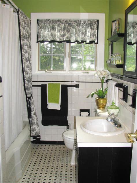 white black bathroom ideas black and white bathroom decor ideas hgtv pictures hgtv