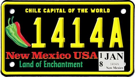 History Of New Mexico License Plates