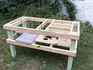 Grill Table Plans Plans DIY Free Download Diy End Table