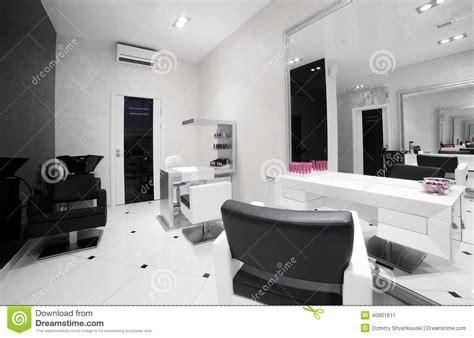 Interior Of Modern Beauty Salon Stock Photo  Image 40901611