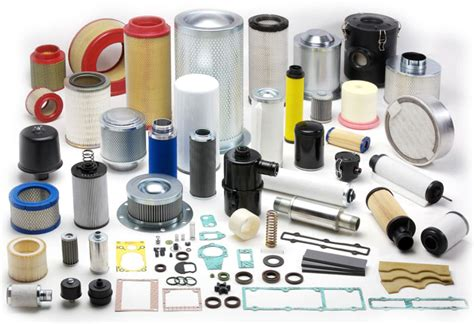 Filters for compressors and spare parts for vacuum pumps ...