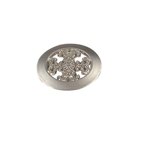 Fleur De Lis Cabinet Knobs Home Depot by Richelieu Hardware 1 1 2 In Fleur De Lis Satin Nickel