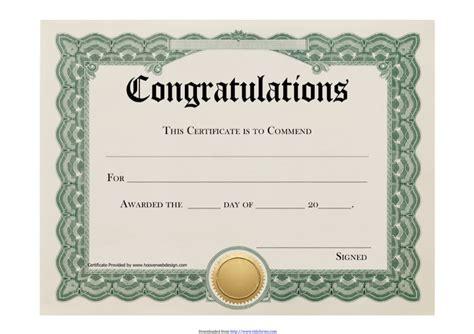congratulations certificate templates download congratulations certificate 1 for free tidyform