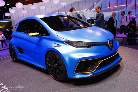 renault zoe electric renault makes electric power exciting in geneva with zoe e