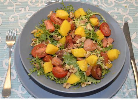 cuisine fut saumon recettes de saumon par ma cuisine santé salade de mangue