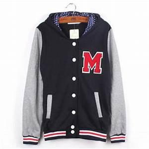 navy blue letter m varsity jacket for women women varsity With letter m varsity jacket
