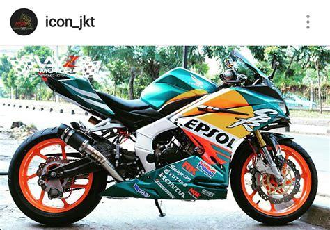 Modifikasi Cbr 250 Repsol by Modifikasi Honda Cbr250rr Livery Repsol Mick Doohan Nsr500