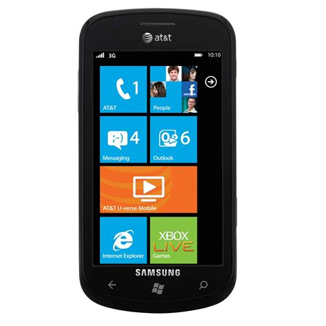 samsung unlocked phones samsung focus i917 unlocked gsm windows 7 os cell phone