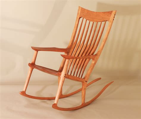 maloof rocking chair auction buy sell original artwork handcrafted goods