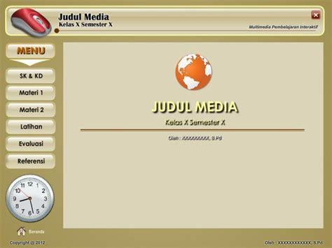 template media pembelajaran interaktif mpi jagonya ips