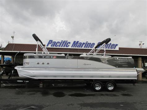 Used Pontoon Boats For Sale In Me by Used Pontoon Boats For Sale 4 Boats