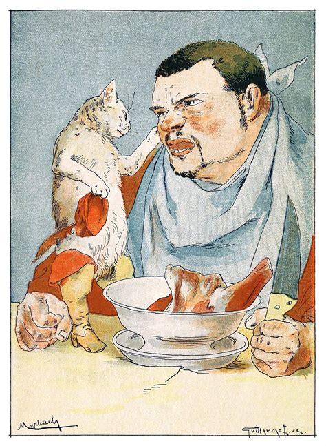 puss   ogre  book illustrations