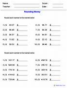 Rounding Worksheets Rounding Worksheets For Practice Practice Front End Estimation Worksheet Free Coloring Pages Of Car Math Worksheet Information About Math Math Worksheets