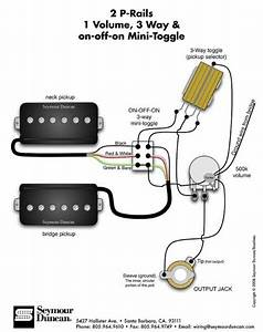 3 Wire Guitar Pickup Wiring Diagram In 2019