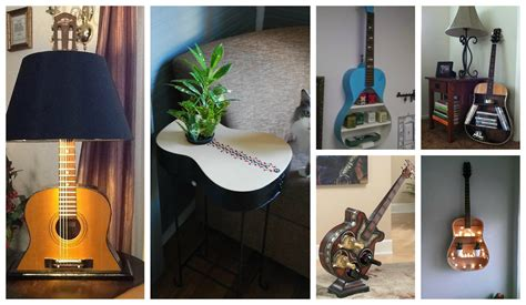 repurpose guitars  home decor