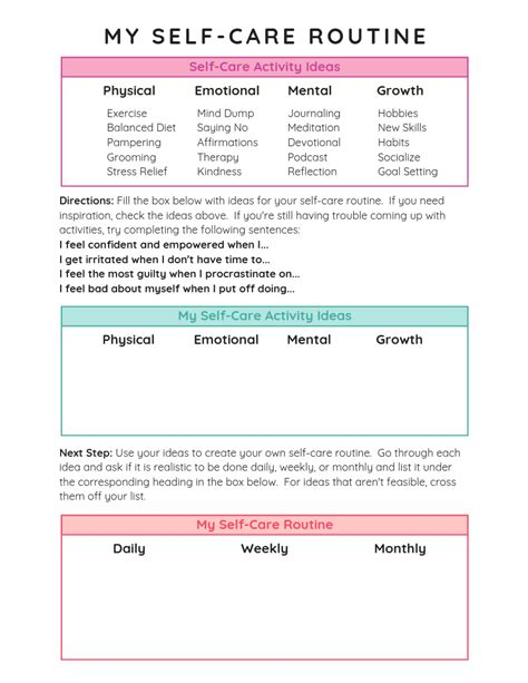 create   care routine youll love tiny ramblings