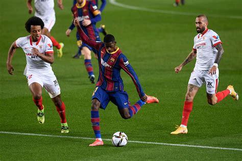 Sevilla Barca - Barcelona Vs Sevilla La Liga Live Score ...