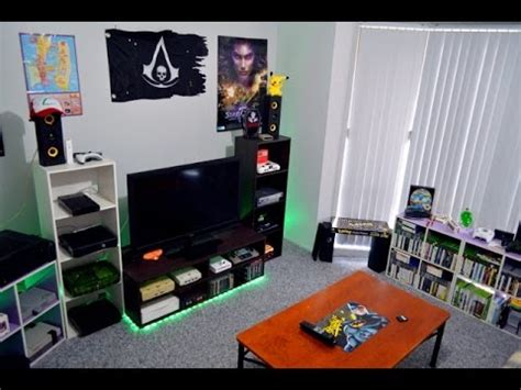 gaming room home theater setup     youtube