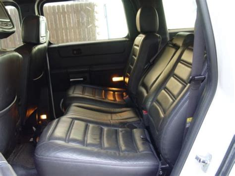 Hummer H2 Rear Seats That Recline!
