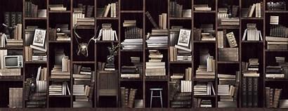 Bookshelf Wallpapers Bookshelves Desktop Simple Minecraft Bookcase