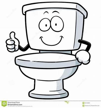 Toilet Vector Illustration Cartoon Clean