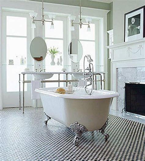 black  white victorian bathroom tiles ideas