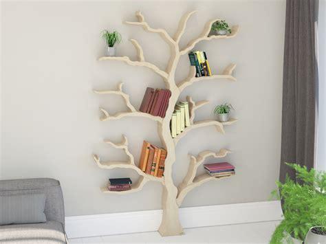 Buy Tree Branch Bookshelf tree shelf tree shelves tree shelf designs by bespoak
