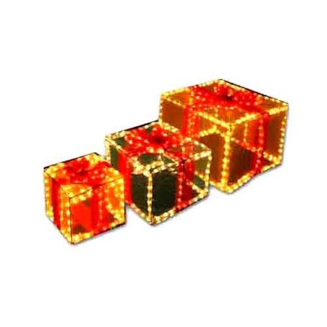 gift boxes light up coloured visual jade
