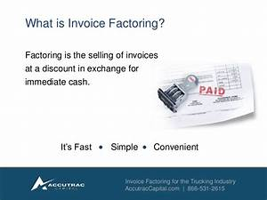immediate access to cash with invoice factoring With what is invoice factoring