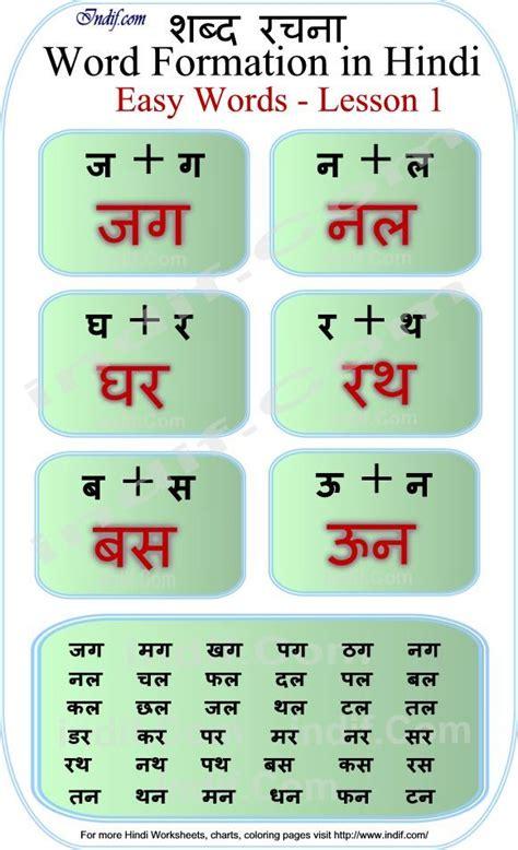 read hindi  letter words hindi board pinterest