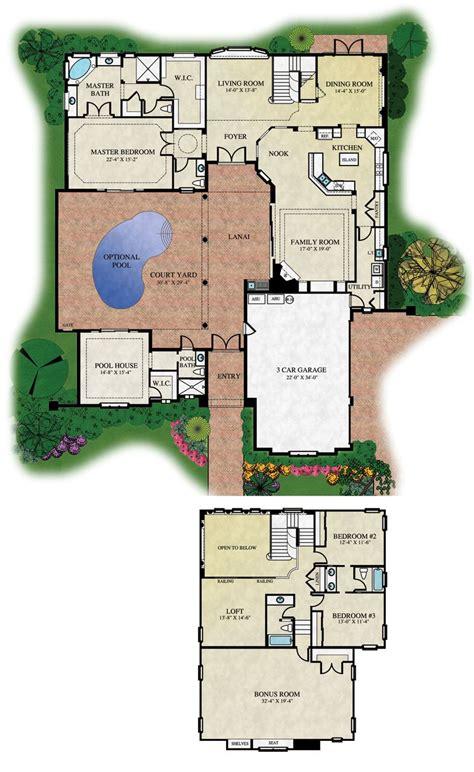 courtyard floorplans floor plans  renderings  abd
