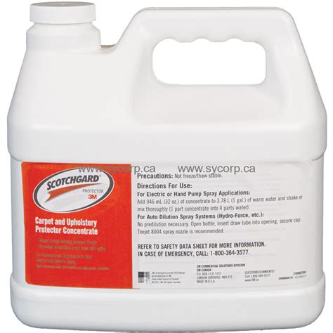 3m Scotchgard Carpet And Upholstery Protector by Scotchgard Carpet And Fabric Protector