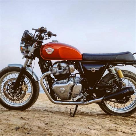 Royal Enfield Interceptor 650 Modification by Royal Enfield Interceptor 650 Custom Exhaust From
