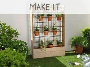 Mur Végétal Extérieur : diy fabriquer un mur v g tal d 39 ext rieur leroy merlin ~ Premium-room.com Idées de Décoration