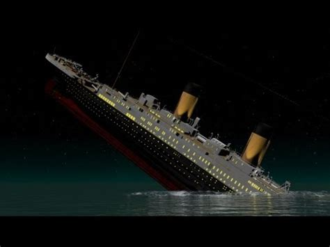 horner the sinking new and improved titanic of a titan t h