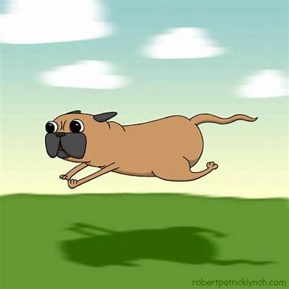 Dog Animation Gifs Gfycat Running Cartoon Fast