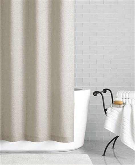 hotel collection linen 72 quot x 84 quot shower curtain