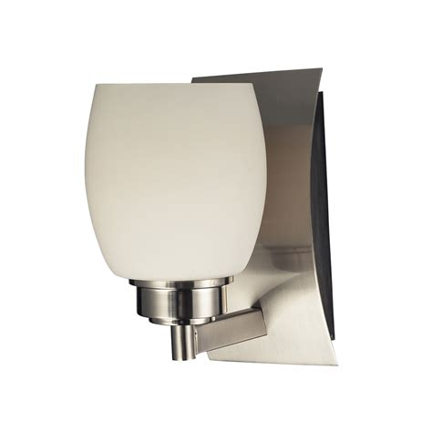 shop westmore lighting satin nickel bathroom vanity light