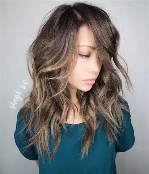 medium shaggy hairstyles  thick hair hairstyle