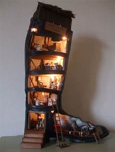 House In A Shoe Gorgeous Doll House I Can See Taking A