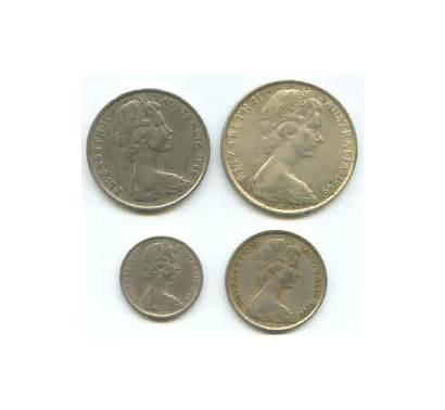 Coins Elizabeth Queen 1966 Australian Ii Aus