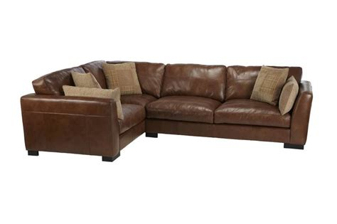 scs settees sisi italia parma left facing leather corner sofa