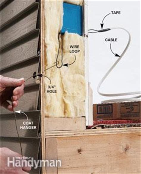 Electrical Wiring Outside by How To Add An Outdoor Electrical Box The Family Handyman