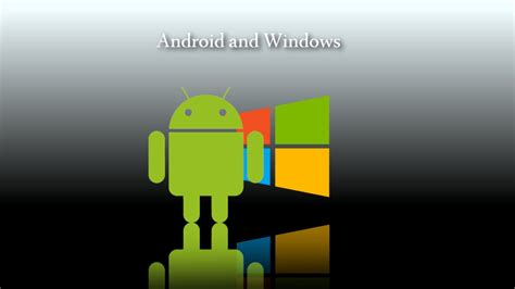 win android android and windows 8 wallpaper by windows7starterfan on