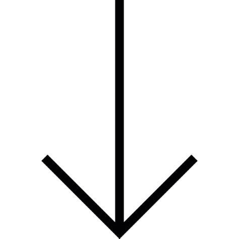 Nach Unten by Pfeil Nach Unten Nach Unten Ios 7 Schnittstelle Symbol