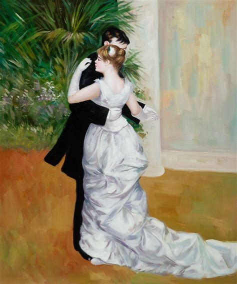 Renoir Dance In The City Oil Painting Reproduction
