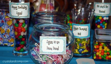 Free Printables Tiffany Blue Candy Buffet