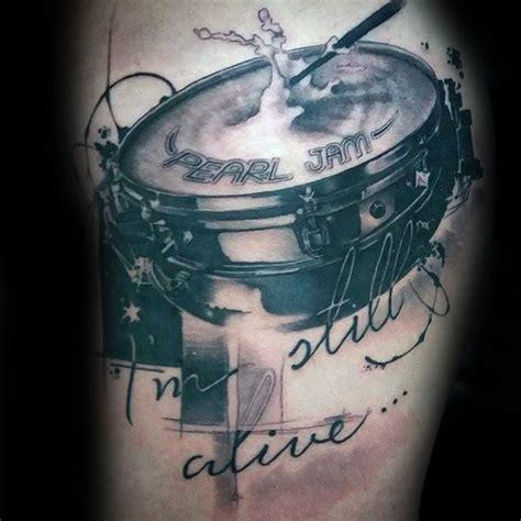 fantastic drum tattoos designs  ideas golfiancom