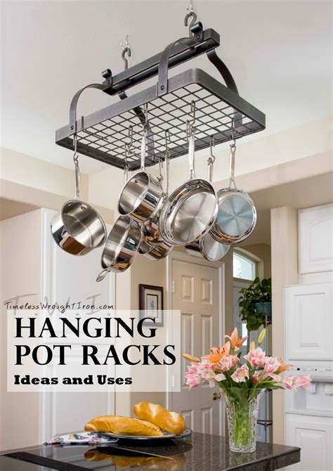 kitchen pot organizer whimsical pot racks ft county iron works and 2461